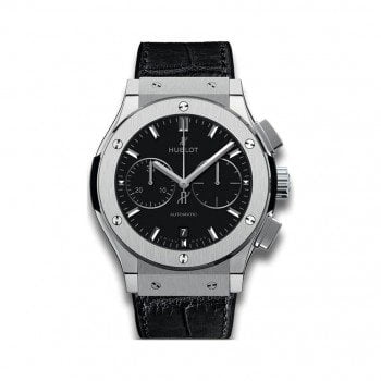 Hublot Classic Fusion Chronograph Titanium Mens Watch 521NX1171LR