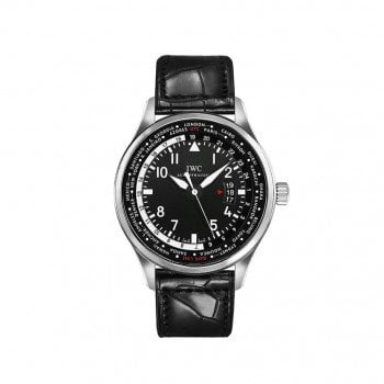 IWC Pilots WORLDTIMER Automatic Mens Luxury Watch IW326201
