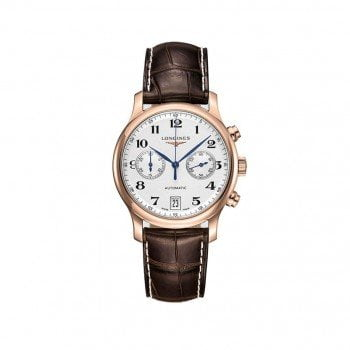 Longines Master Collection L2.669.8.78.3 Automatic Chronograph Watch