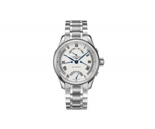 Longines Master Collection L2.715.4.71.6 Retrograde 41mm Mens Watch @majordor #majordor