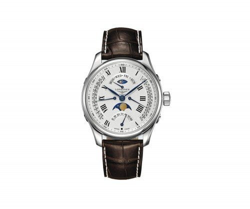 Longines Master Collection L2.739.4.71.3 Moon Phase 44mm Mens Watch