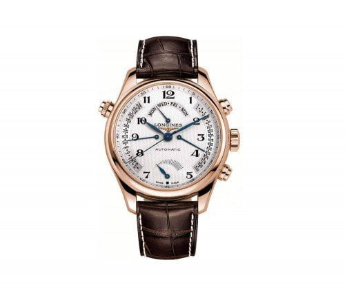 Longines Master Collection L2.714.8.78.3 Retrograde 41mm Mens Watch