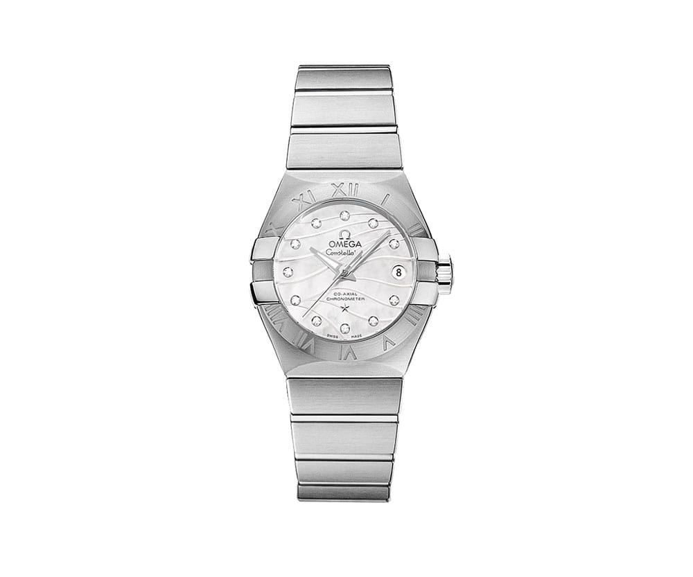 Omega constellation women luxury watch for Omega watch constellation