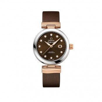 Omega 425.22.34.20.63.001 De Ville Ladymatic 34mm Ladies Watch