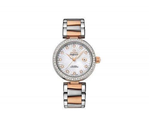 Omega 425.25.34.20.55.001 De Ville Ladymatic Ladies Luxury Watch