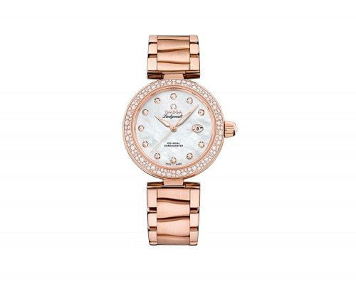 Omega 425.65.34.20.55.010 De Ville Ladymatic 34mm Womens Watch @majordor #majordor