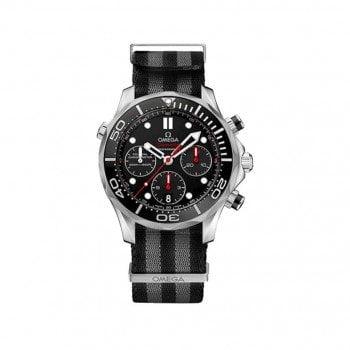 Omega Seamaster 300m Diver NATO Mens Watch 21230445001001-NATO