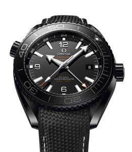 Omega Seamaster Planet 215.92.46.22.01.001 Ocean GMT Deep Black