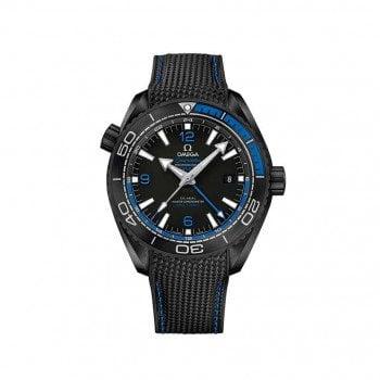 Omega Seamaster Planet Ocean 600m GMT DEEP BLACK 21592462201002