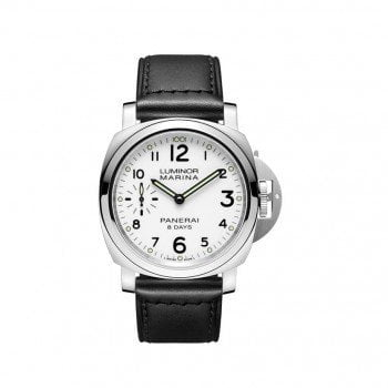 Panerai Luminor PAM00563 Marina 8 Days Acciaio Mens Watch @majordor #majordor