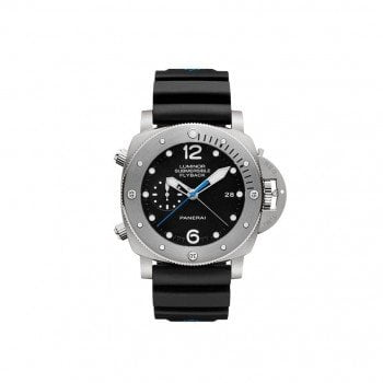 Panerai Luminor PAM00614 Submersible 1950 Flyback Titanio @majordor #majordor