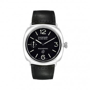 Panerai Radiomir PAM00380 Black Seal Acciaio Mens Watch @majordor #majordor