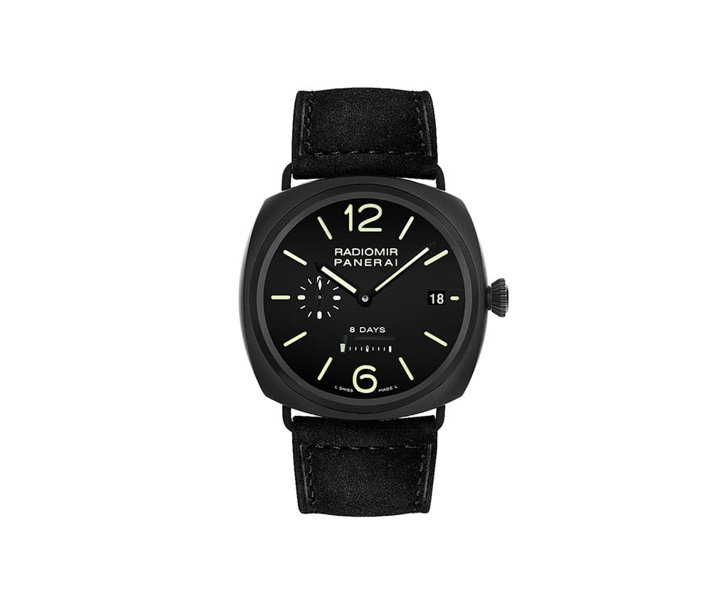 Panerai Radiomir PAM00384 8 Days Ceramica 45mm Mens Watch @majordor #majordor