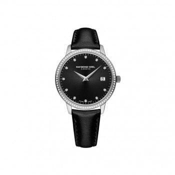 New Raymond Weil TOCCATA Diamonds Ladies Luxury Watch 5388-SLS-20081