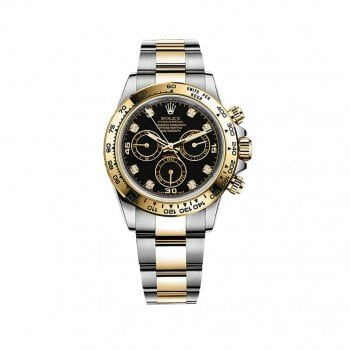 Rolex Daytona 116503-blkd Cosmograph Gold and Steel Mens Watch @majordor #majordor