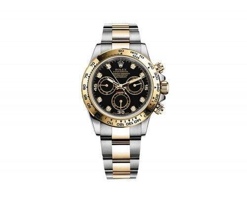 Rolex Daytona 116503-blkd Cosmograph Gold and Steel Mens Watch @majordor #majordor