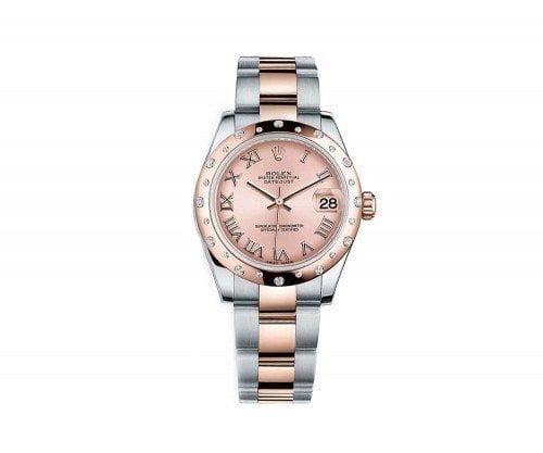 Rolex LADY Datejust 178341-pnkro 31 mm Luxury Womens Watch