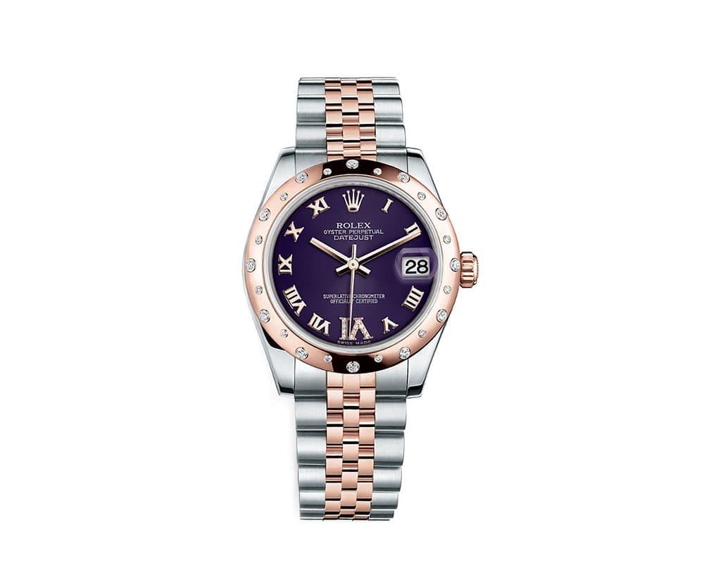 Rolex Lady Datejust 178341-purdrj 31 mm Luxury Womens Watch @majordor #majordor