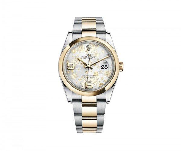 Rolex DATEJUST 36 Womens Luxury Watch 116203-SLVFO