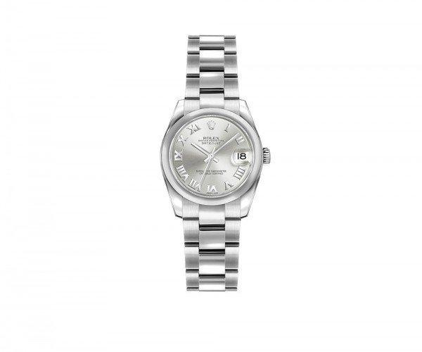 Rolex Lady-Datejust 179160-SLVRO 26mm Women Luxury Watch