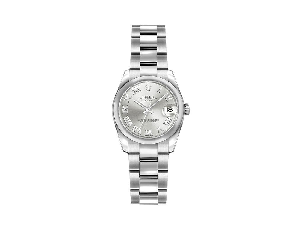 Rolex Lady-Datejust 179160-SLVRO 26mm Women Luxury Watch