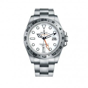 Rolex Oyster Perpetual Explorer II Mens Luxury Watch 216570-WHITE
