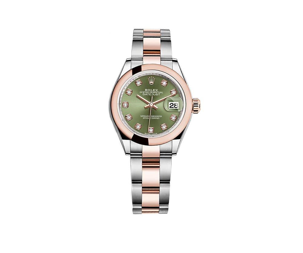 f32891356fd6a Rolex Lady Datejust 279161-grndo 28mm Women Watch