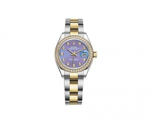 Ladies Rolex Datejust 279383RBR-LAVDO 28 Diamonds Watch