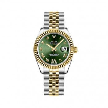 Rolex LADY Datejust 178273-GRNRJ 31 mm Womens Luxury Watch