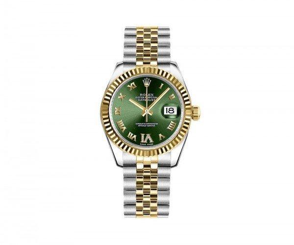 Rolex LADY Datejust 178273-GRNRJ 31 mm Womens Luxury Watch
