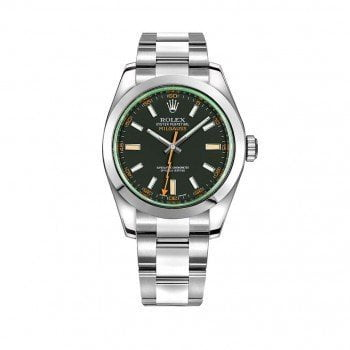 Rolex Milgauss Anniversary Edition Mens Watch 116400-GRNSDO