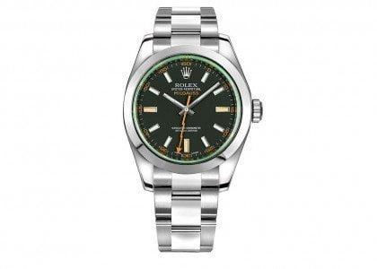 Rolex Milgauss Anniversary Edition Mens Watch 116400-GRNSDO