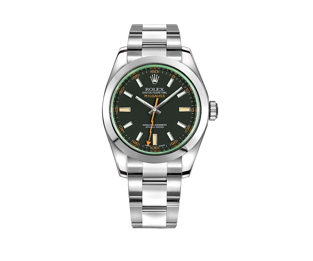 Rolex Milgauss m116400gv 0001 Limited Edition Black Dial