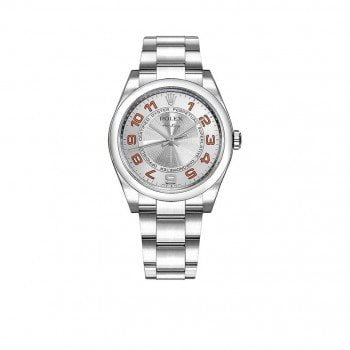 Rolex Air-King Oyster Perpetual Mens Luxury Watch 114200-SLVOAO