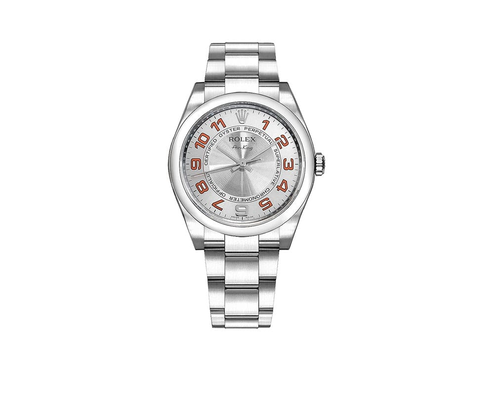 Rolex 114200-SLVOAO Air-King Oyster Perpetual Women Watch