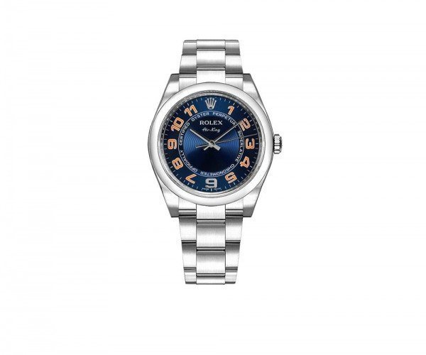 Rolex Air-King Oyster Perpetual Mens Luxury Watch 114200-BLUOACO