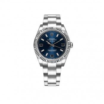 Rolex Oyster Perpetual Air-King Luxury Watch 114234-bluaso