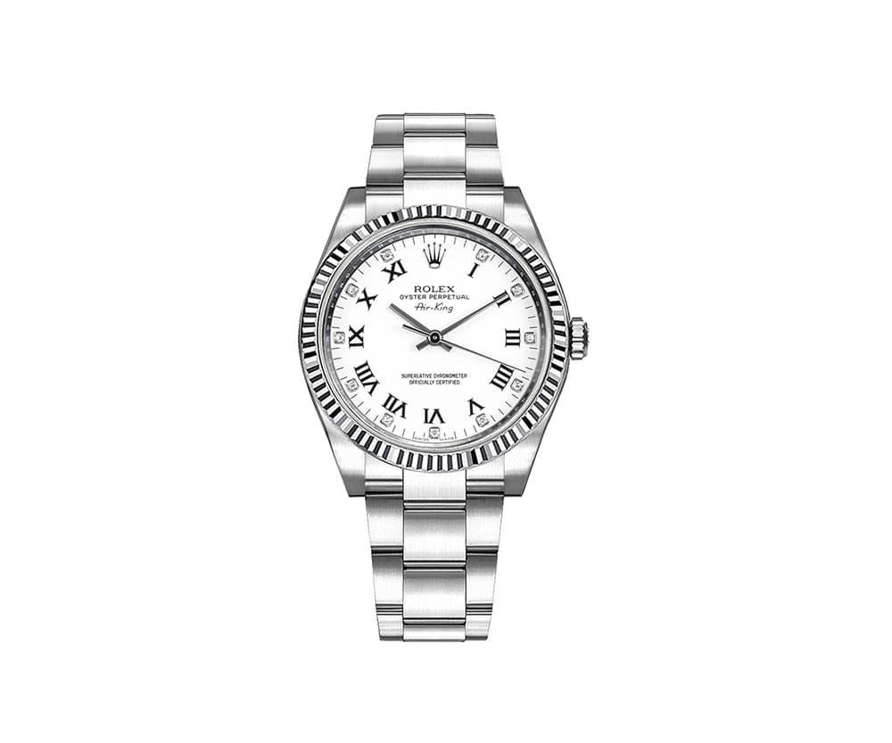 Rolex 114234 whtdro Air King Women Watch
