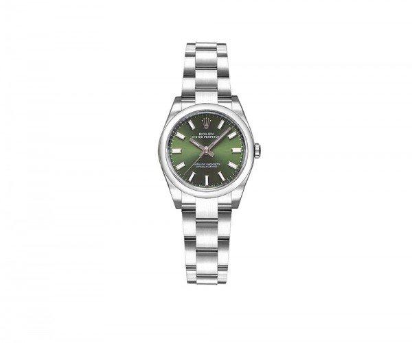 Rolex 176200 olgso Oyster Perpetual 26mm Green Dial Ladies Watch caliber 2231 @majordor #majordor