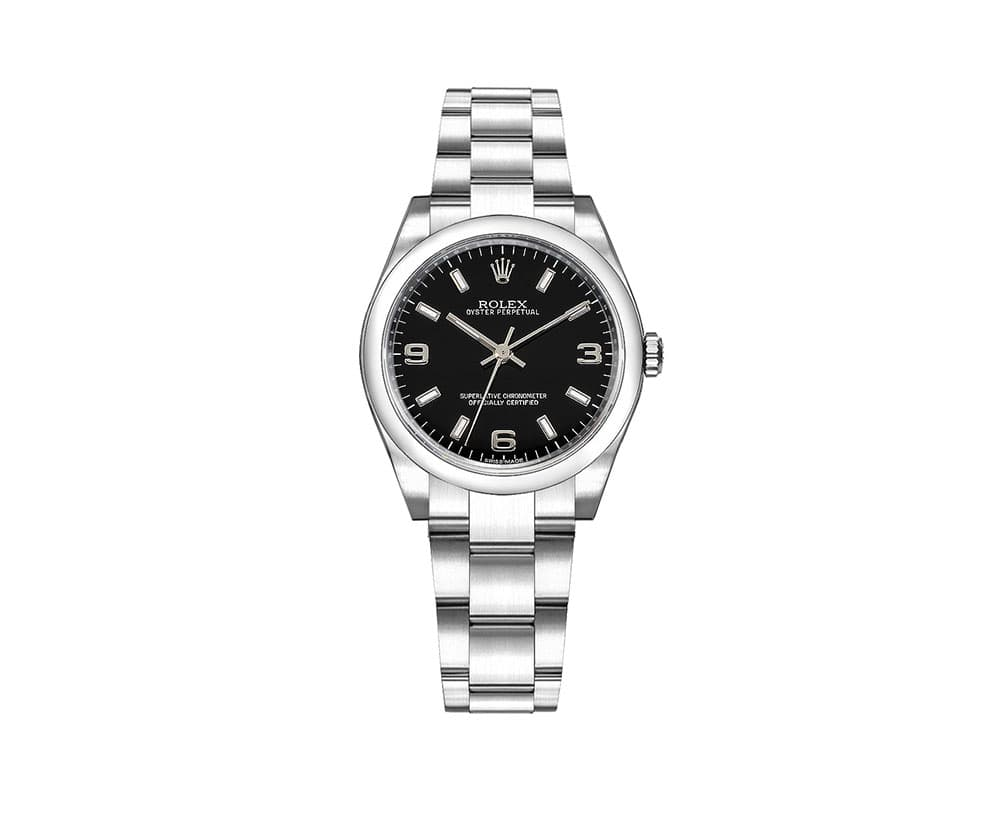 Rolex 177200 blksao Oyster Perpetual 31mm Black Dial Ladies Watch caliber 2231 @majordor #majordor