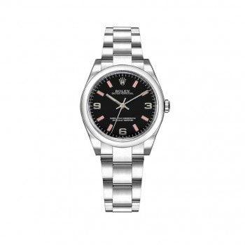 Rolex 177200 bkpado Oyster Perpetual 31mm Domed Bezel Ladies Watch caliber 2133 @majordor #majordor