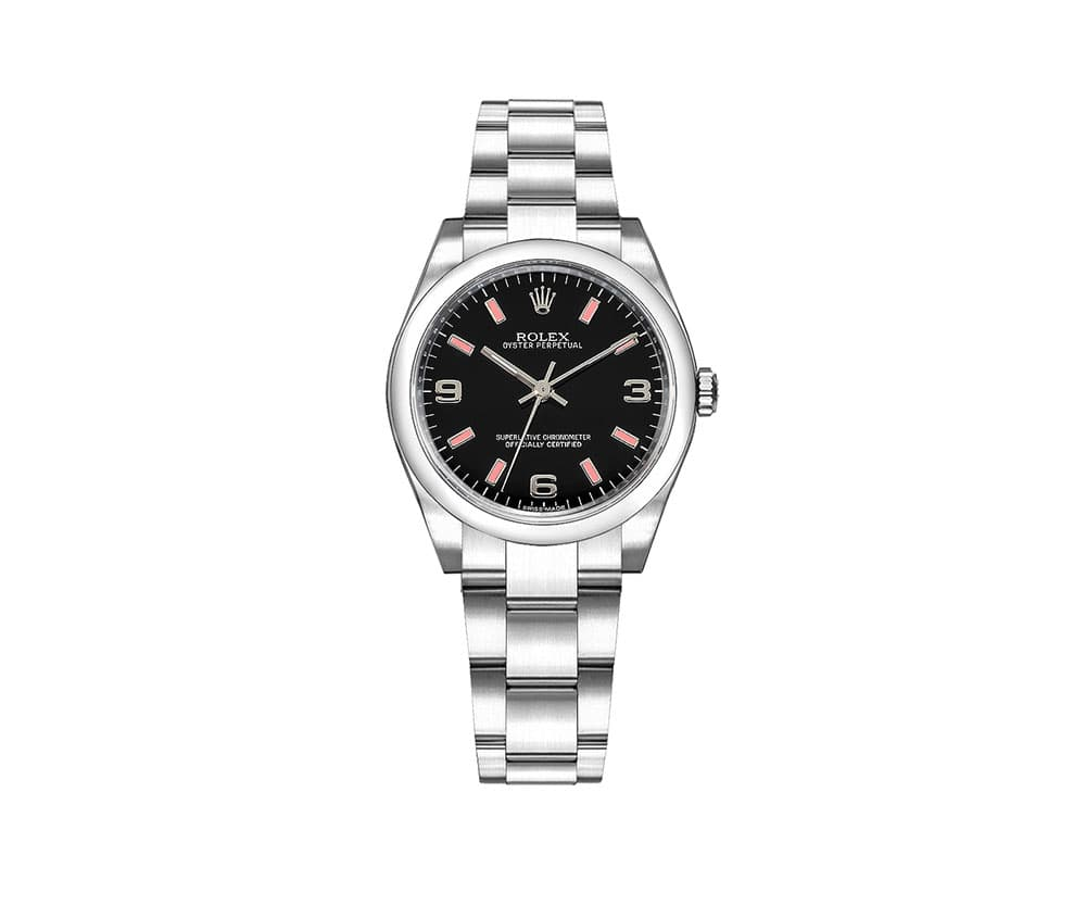 Rolex 177200 bkpado Oyster Perpetual 31mm Domed Bezel Ladies Watch caliber 2133 @majordor #majordor