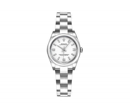 Rolex 176200 whtsao Oyster Perpetual 26 mm White Dial Ladies Watch caliber 2231 @majordor #majordor