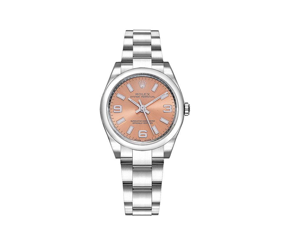Rolex 177200 pnksao Oyster Perpetual 31mm Pink Dial Ladies Watch caliber 2133 @majordor #majordor
