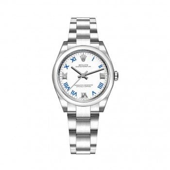 Rolex m177200-0016 Oyster Perpetual 31mm White Dial Ladies Watch caliber 2133 @majordor #majordor