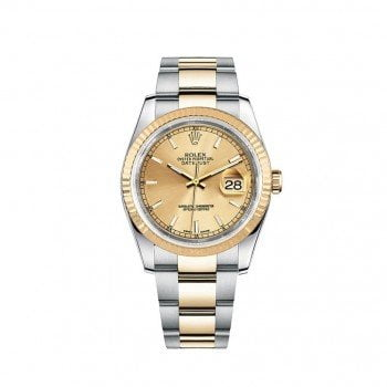 Rolex DATEJUST 116233-GLDSO 36mm Womens Luxury Watch @majordor #majordor