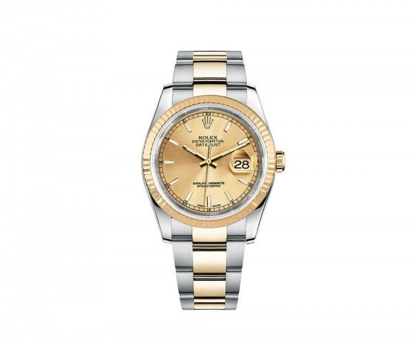 Rolex DATEJUST 36 Womens Luxury Watch 116233-GLDSO