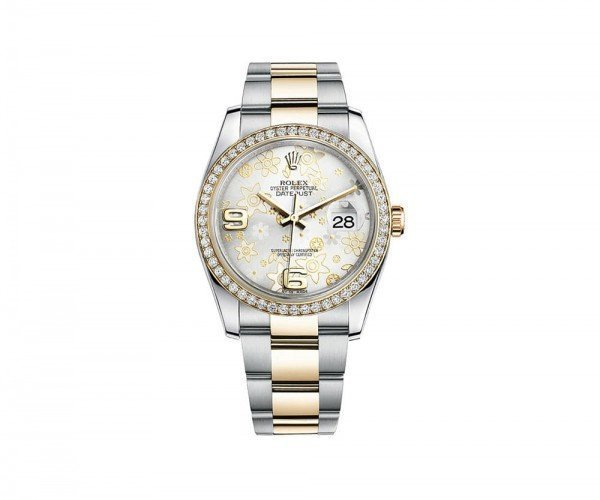 Rolex DATEJUST 36 Womens Luxury Watch 116243-SLVFDO