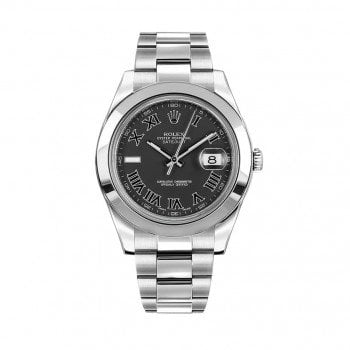 Rolex Datejust II 116300-blkrso 41mm Black Dial Mens Watch @majordor #majordor