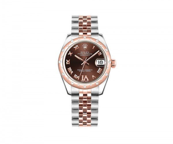 Rolex LADY Datejust 31 Chocolate Dial Women Watch 178341-CHODRO